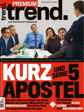 Kurz und seine 5 Apostel Titelseite