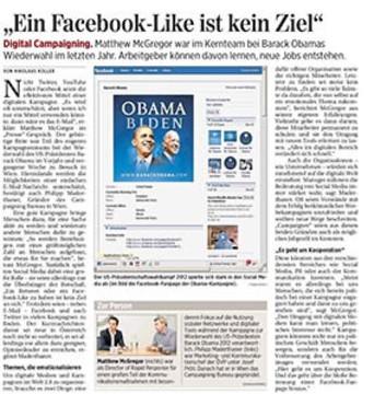"""""""Ein Facebook-Like ist kein Ziel"""""""