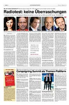 Campaigning Summit als Themen-Plattform